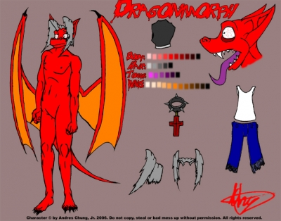 Ref. Sheet - Dragonmorph