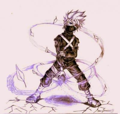 white leaf revenger---.Kakashi