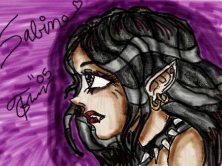 Sabine in Profile