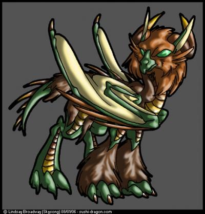Dragon Glassgryph