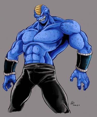DBZ- Blue Streak