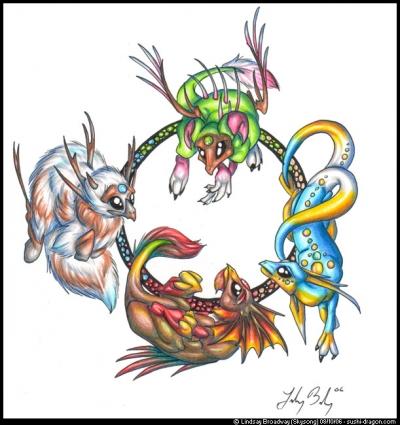 Seasonal Dragons