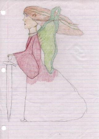 Breezy Woman-Fairy