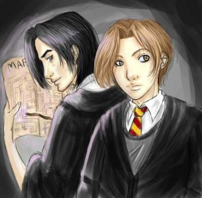 Remus and Sirius