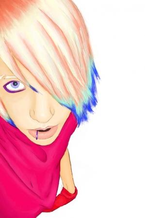 Teh Emo Pink