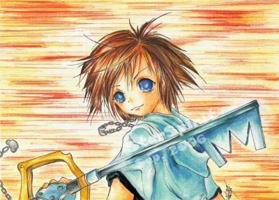 """Kingdom Hearts """"Sora"""