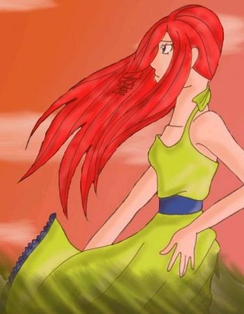 Jade in the Breeze