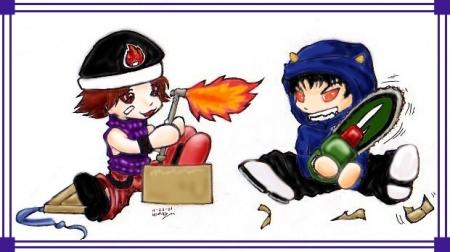 Eiji and Kirihara's X-mas gift