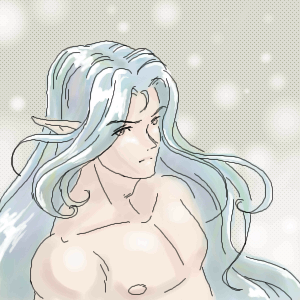 Silver haired elf