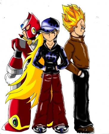 Zero  Vegeta and me (colored)