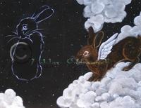 Hazel Rah and the black rabbit
