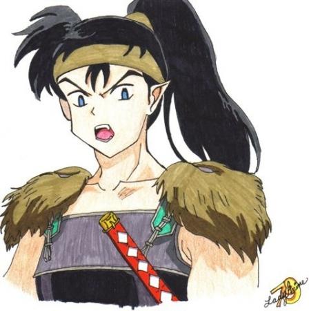 Koga from Inuyasha