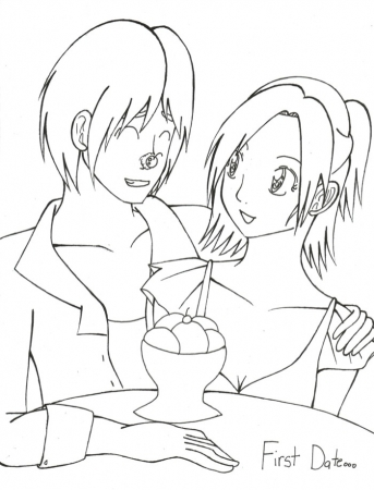 First Date [lineart]