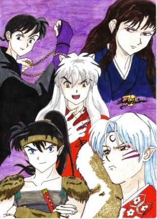 Inuyasha collage