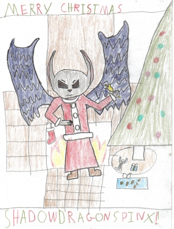 Merry Christmas Shadow Sphinx!