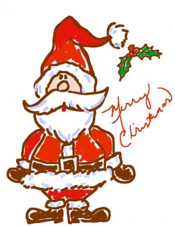 Santa Doodle