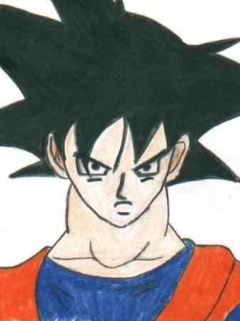 My evil Goku lol