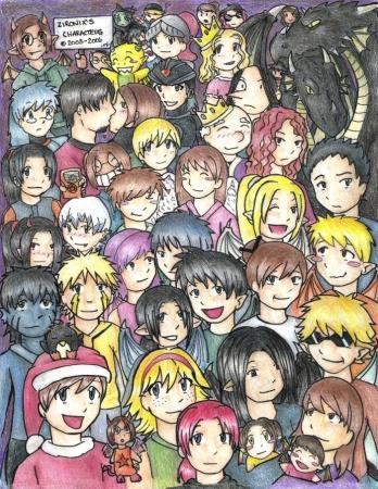 Zironix's Original Characters