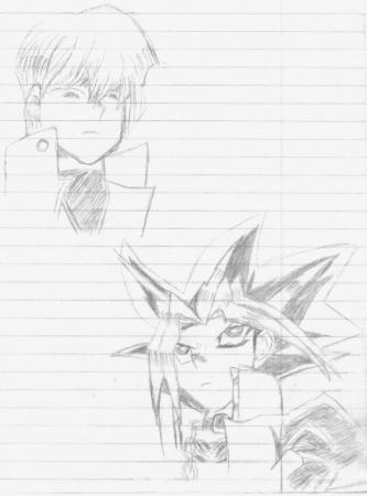 Yugi And Kaiba