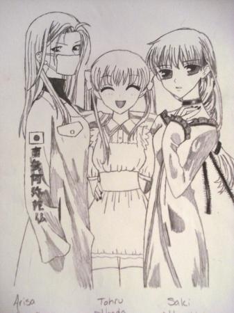 Tohru  Hana  and Uo