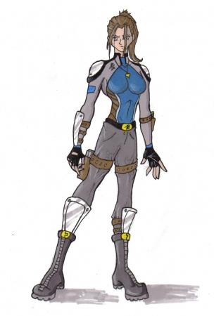 Brook's war suit