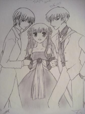 Tohru  Yuki  and Kyo
