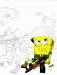 Sponge At War 2 by leetpawnmaster, WarSquirrel