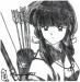 Priestess Kikyou by Moonglare