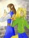 Omaru & Elix by ladyHisoka