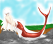 merman sesshomaru by mew2