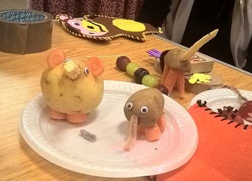 Potato animals s