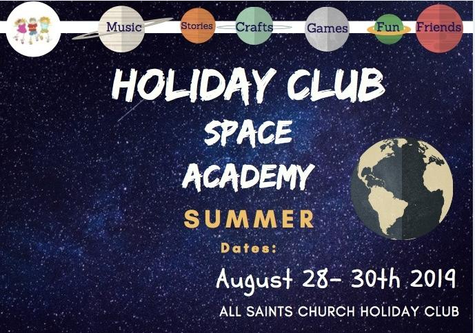 Space academy flier