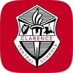 Clarence School District Shield Logo