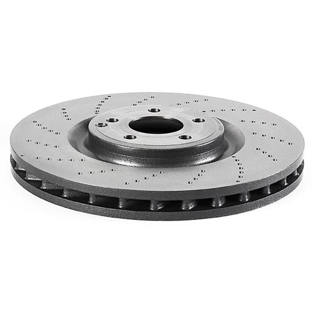 For 2009-2014 Mercedes CL550 Brake Rotor Front Brembo 43376XP 2010 2011 2012