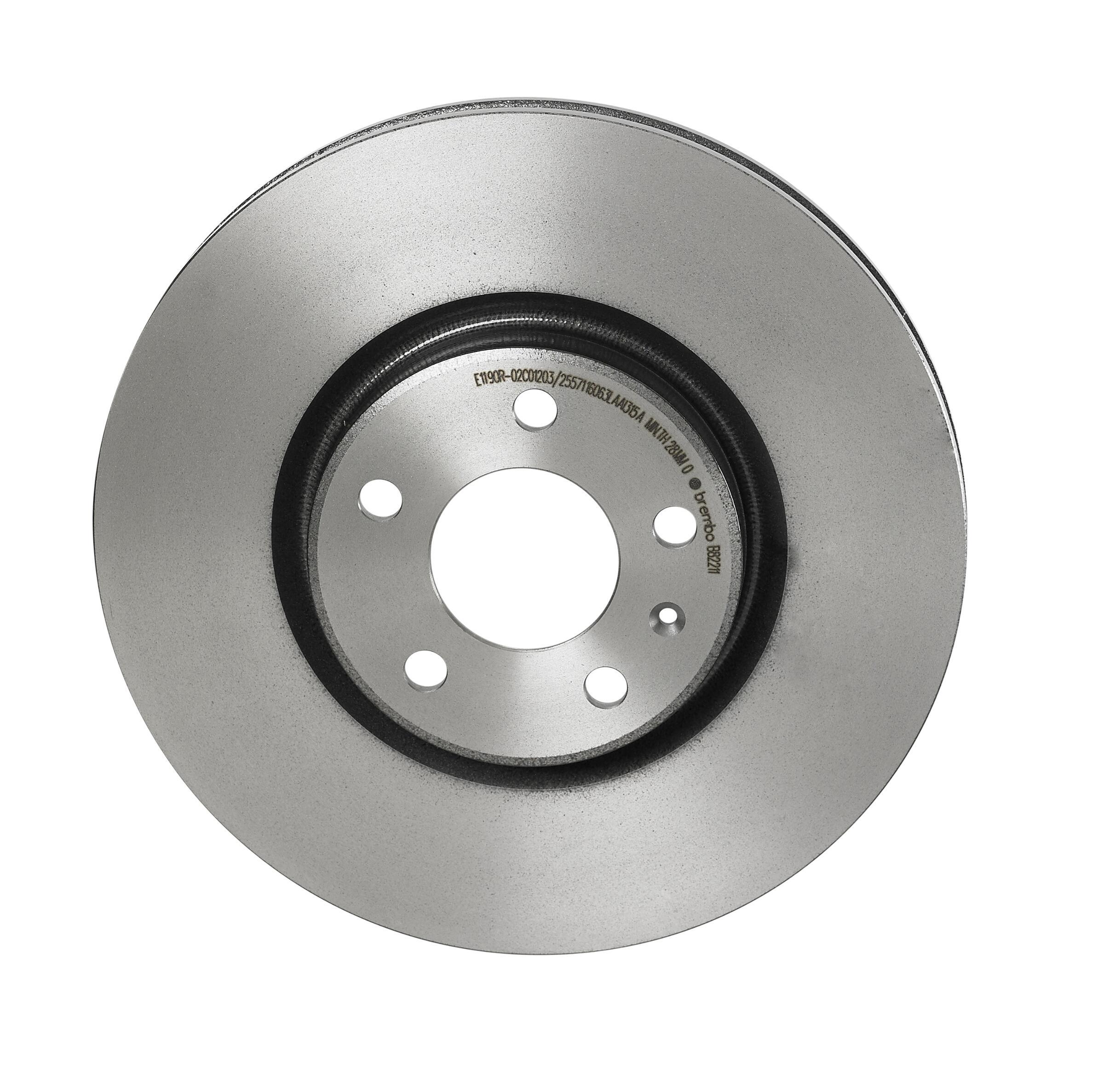 Brembo 09.5584.11 UV Coated Front Disc Brake Rotor