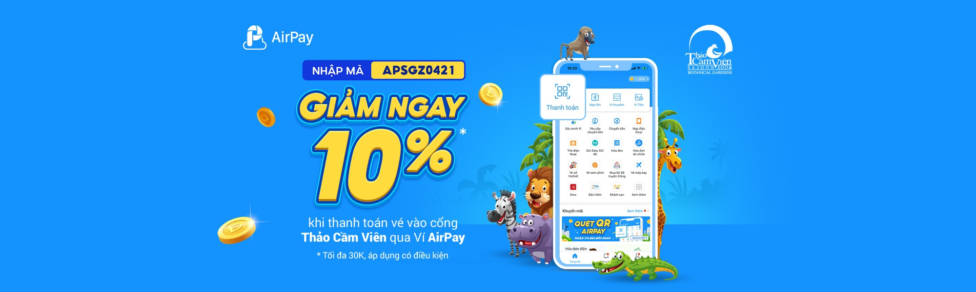 airpay-thaocamvien-promotion