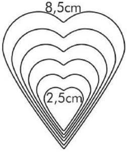 Coppapasta Tescoma A Cuore Dimensioni: Larghezza da 2,5 a 8,5 cm.