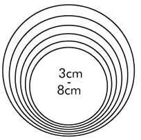 Coppapasta Tescoma Rotondo Misure: Diametro da 3 a 8 cm.