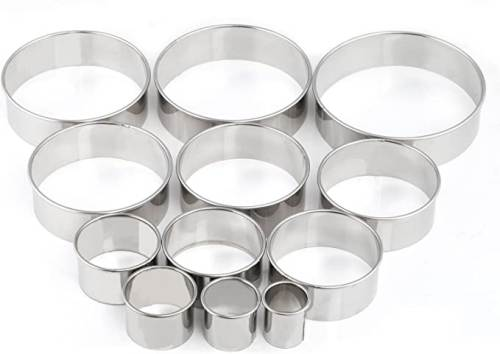 Set di 12 Coppapasta in Acciaio inossidabile Gwhole