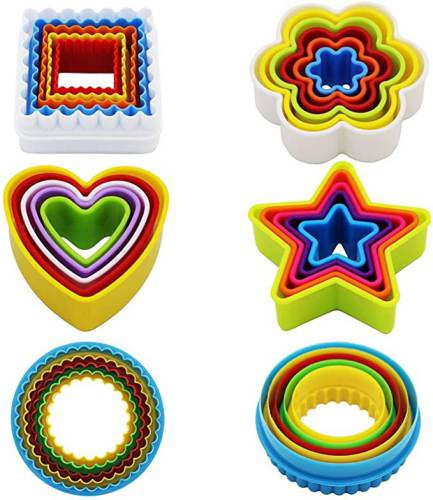 Coppapasta in Plastica colorata Kaishane con Forme diverse