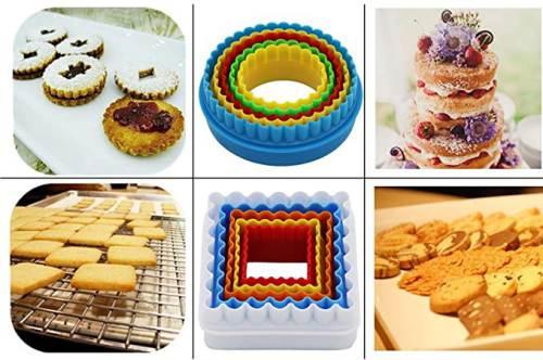 Realizzazione di Dolci e Biscotti con i Coppapasta in Plastica colorata Kaishane