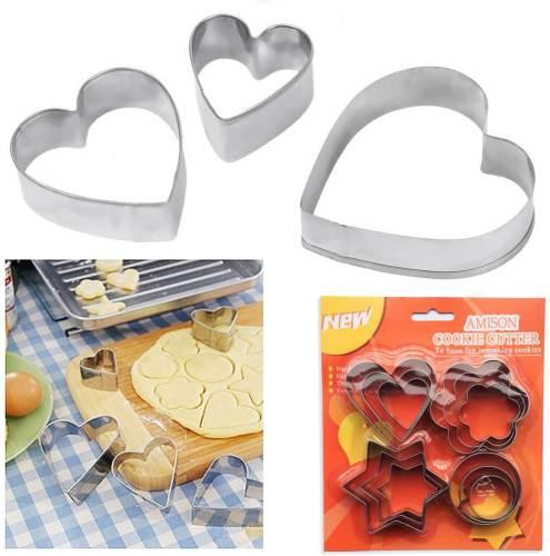Set di Coppapasta Amison a forma di cuore