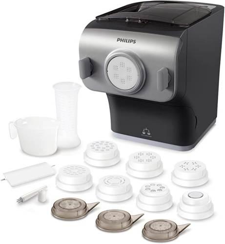 Pasta Maker Plus Hr2358/12 con tutte le Trafile e gli accessori in dotazione