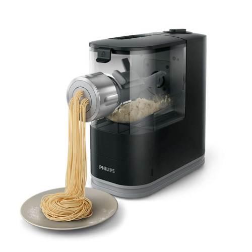 Pasta Maker Viva Hr2345/29 durante l'estrusione della pasta
