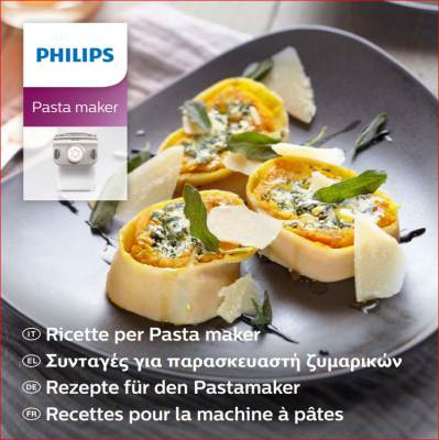 Ricettario Philips Pasta Maker