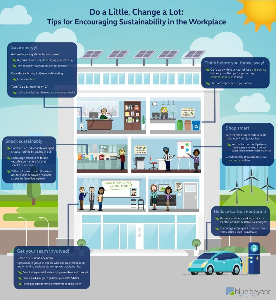 sustainability in the workplace blue beyond consulting organizational culture