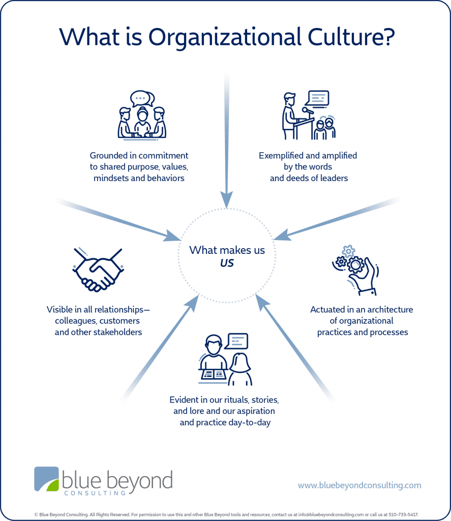 what is organizational culture infographic