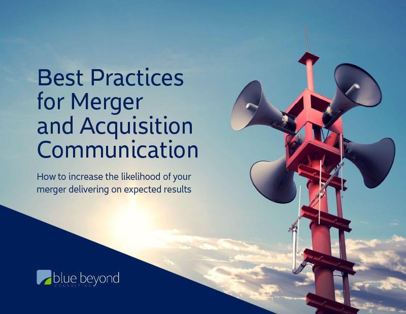 M&A Communication Best Practices