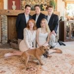 Kim Walsh with family blue beyond consulting bay area