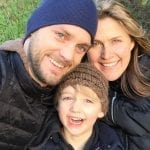 gretchen hoover anderson with family blue beyond consulting bay area
